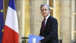 Georges Tron at the Elysee Palace - photo 6 January