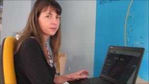 Paula Silva of Best Travel Agency, Palmela
