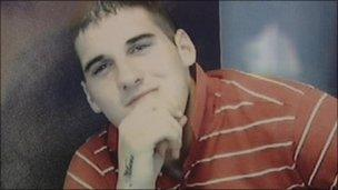 Aaron Hogg, 21, was found dead in his cell at HMP Maghaberry