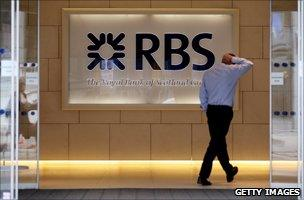 Man walks into RBS