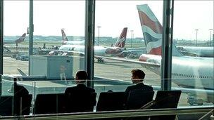 View of Heathrow Terminal 5 - file pic