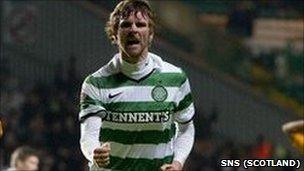 Celtic and former Derry City striker Paddy McCourt