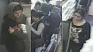 CCTV of people thought to be involved in Bentley Road safe robbery