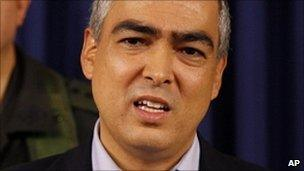 File photo Rodrigo Rivera on 21 March 2011