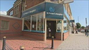 St Peter's Hospice's new store