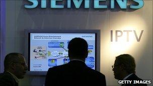 IPTV on display at Siemen's event