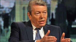 Former health secretary Alan Johnson