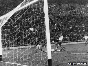 Archie Gemmill scores for Scotland against Holland at the 1978 World Cup
