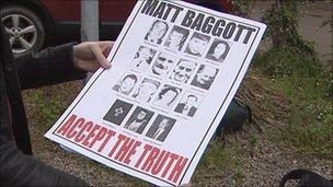 Relatives called on Chief Constable Matt Baggott to accept the ombudsman's report findings