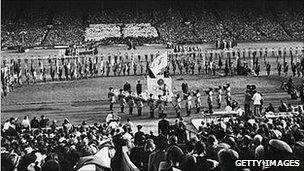 1948 Olympics closing ceremony