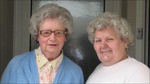 Gloria Prinn and Nancy Bond