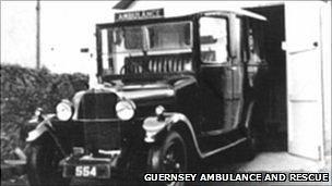 Ambulance and Rescue Guernsey: Old ambulance