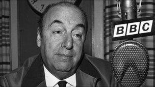 Chilean poet Pablo Neruda (file photo - 1965)