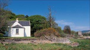Cottage at Saddell Bay
