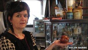 Karen Howell, Herb Archivist at the Herb Garret.