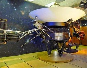 Voyager replica at JPL
