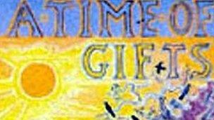 Detail from the cover of A Time of Gifts