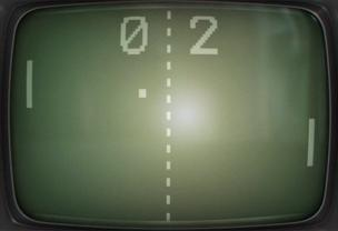 Pong on TV