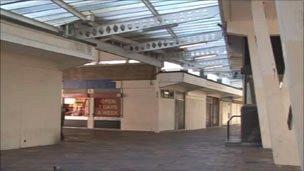 Taff Vale shopping precinct