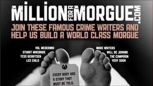 Million for a morgue webpage