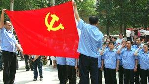 Communist party members
