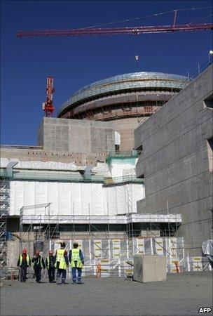 Olkiluoto third reactor building