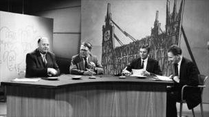 Andrew Shonfield, Reith Lecturer 1972 (far right)