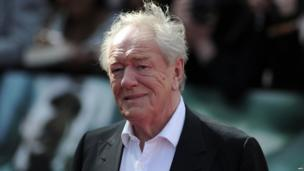 Michael Gambon who plays Dumbledore