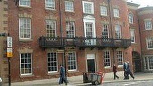 The Wynnstay Arms Hotel in Wrexham