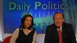 Anita Anand and Andrew Neil