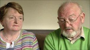 Nuala and Jack O'Donnell
