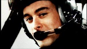 Flight Lieutenant Jonathan Tapper was a pilot on the flight