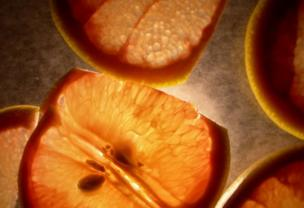 Slices of fruit