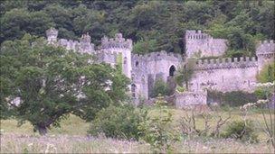 Gwrych Castle, courtesy Gwrych Castle Preservation Trust