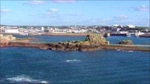 Jersey coast