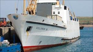 Scillonian III ferry