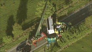 Keswick bus crash
