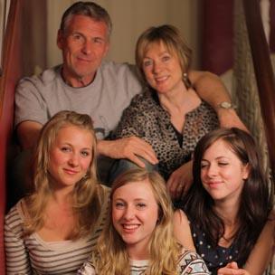 (Clockwise) Jules, Julia, Lucy, Josie and Emma Bellerby