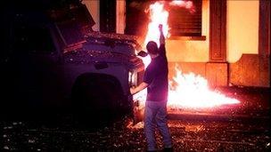 Trouble in Ardoyne in 2001