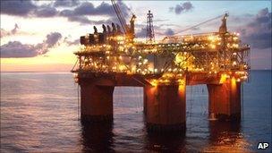 BHP Billiton's Atlantis oil and gas rig