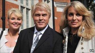 Cheryl Baker, Mike Nolan and Jay Aston