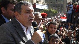Essam Sharaf - file photo