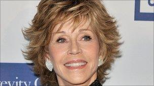 jane fonda dropped from qvc channel appearance bbc news