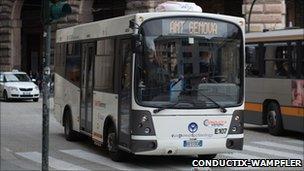 Italy, bus