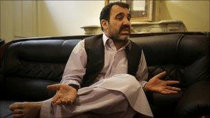 Ahmad Wali Karzai (file photo 2009)