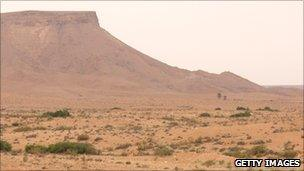 The town of Nalut is situated in western Libya, amid the Nafusa mountains