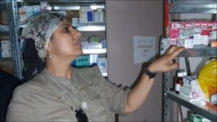 British doctor Saleyha Ahsan