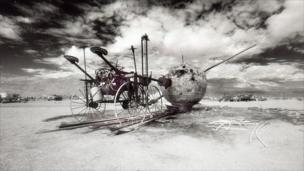 A scrap machine