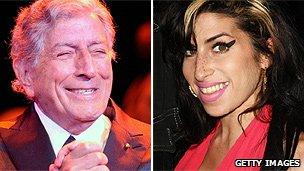 Amy Winehouse and Tony Bennett duet to benefit charity - BBC