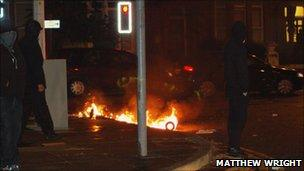 Fire in Liverpool street